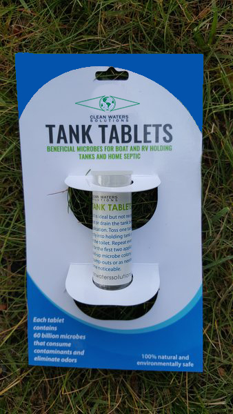 Clean waters Tank Tablets 10tube